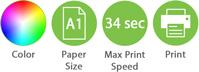 Color A1 34sec Print