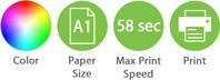 Color A1 58sec Print