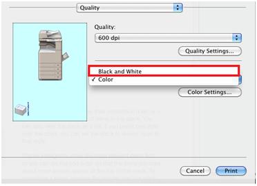 Select Black White