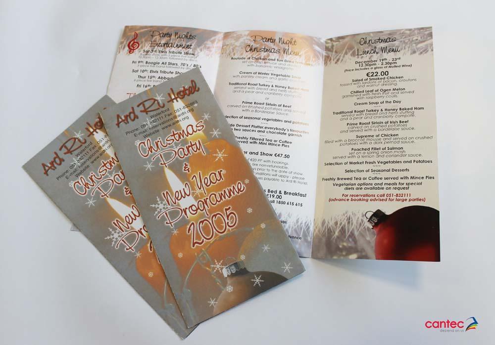 Ard Ri Hotel Brochures