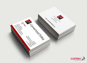 Comerford Foley Business Cards