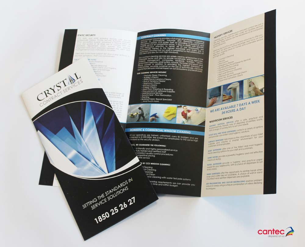 Crystal Contract Services Brochures