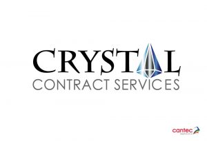 Crystal Contract Services Waterford Logo Design