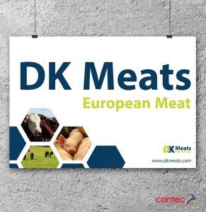 DK Meats Poster