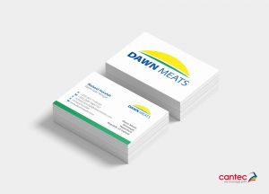 Dawn Meats Business Card