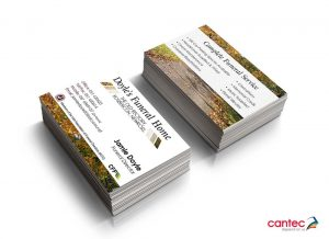 Doyles Funeral Home Business Cards