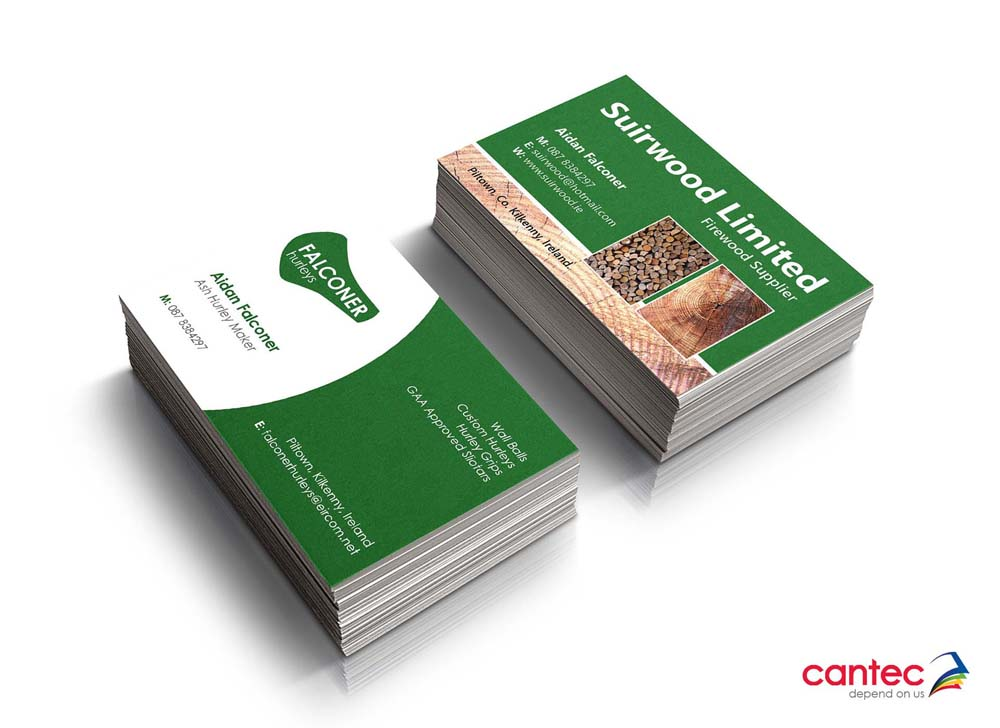 Falconer hurleys business cards cantec falconer hurleys business cards reheart Images