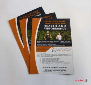 Flanagan Physical Therapy Flyer