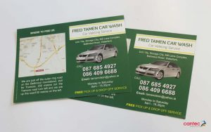 Fred Tamen Car Wash Flyer