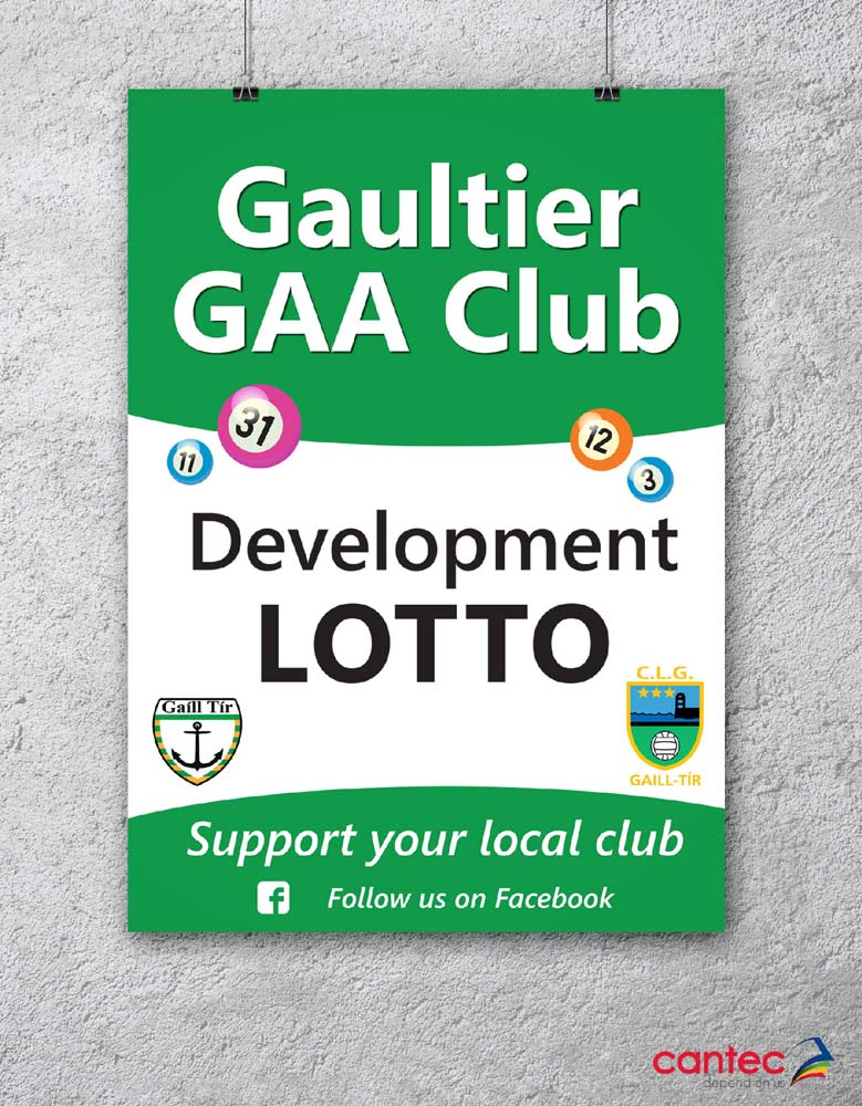 Gaultier GAA Club Poster
