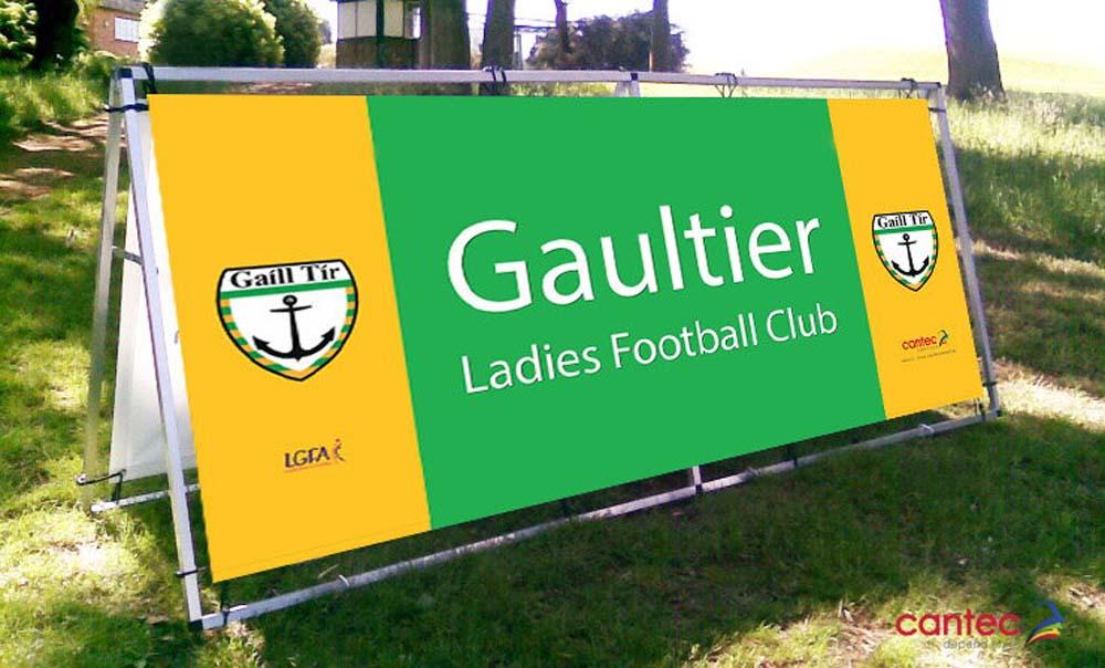 Gaultier PVC Banner