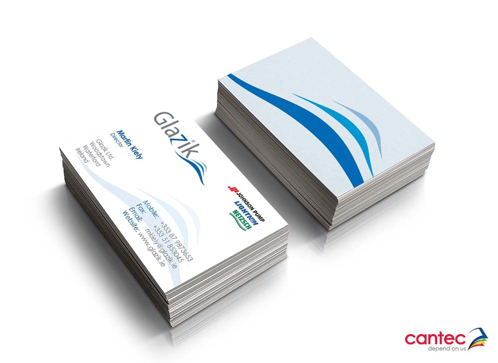 Glazik Business Cards
