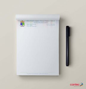 Holy Family Junior Mercy Primary School Notepad