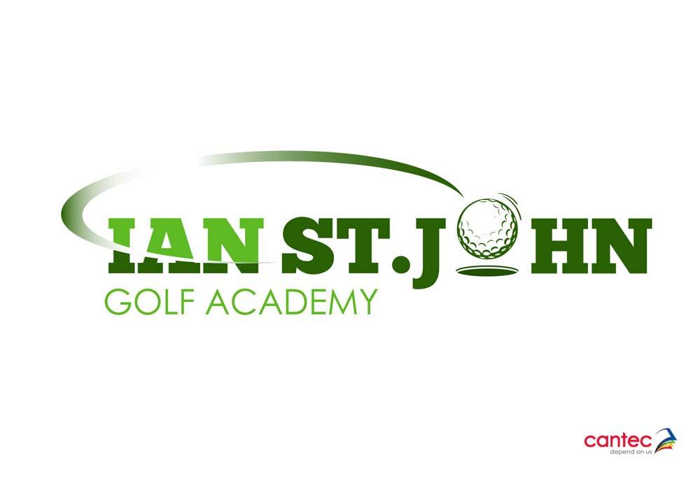 Ian St John Golf Academy Waterford Logo Design
