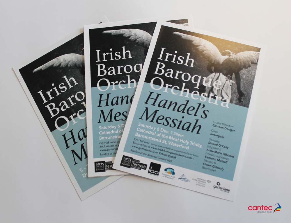 Irish Baroque Orchestra Flyer