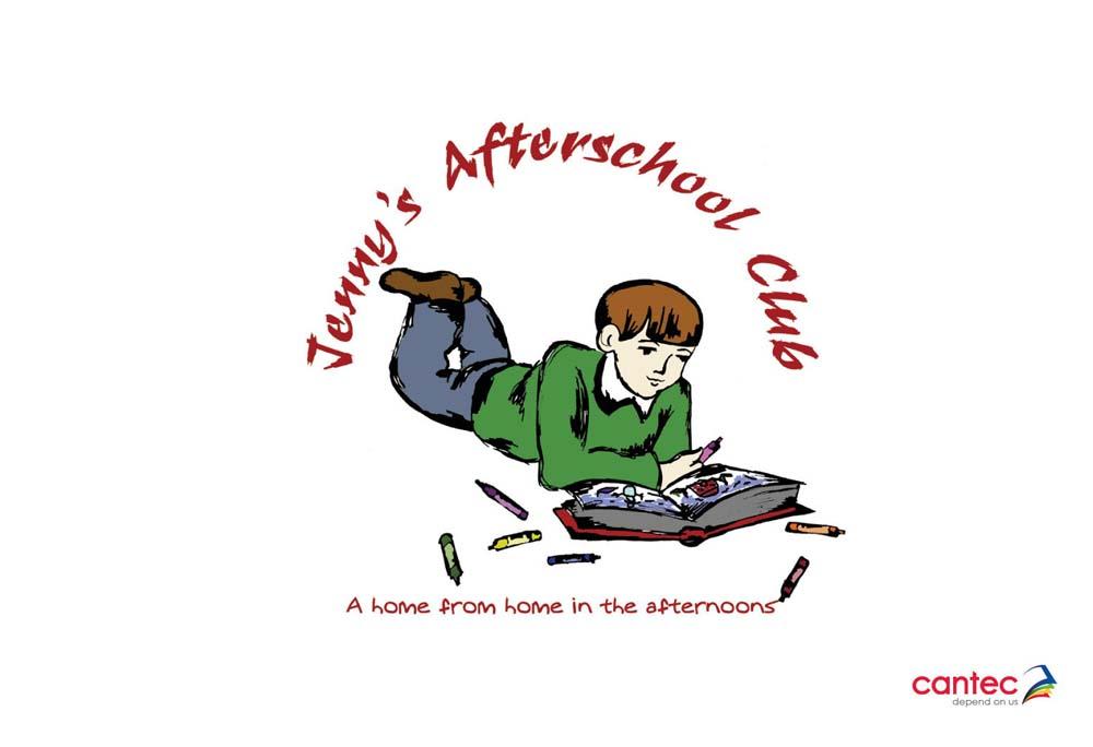 Jennyss Afterschool Club Waterford Logo Design