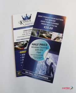 Kings Cleaning Services Flyer