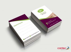 Margarets Hair Studio Business Cards