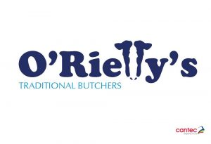 ORielly Traditional Butchers Logo Design
