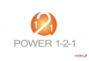 Power 1-2-1 Logo Design