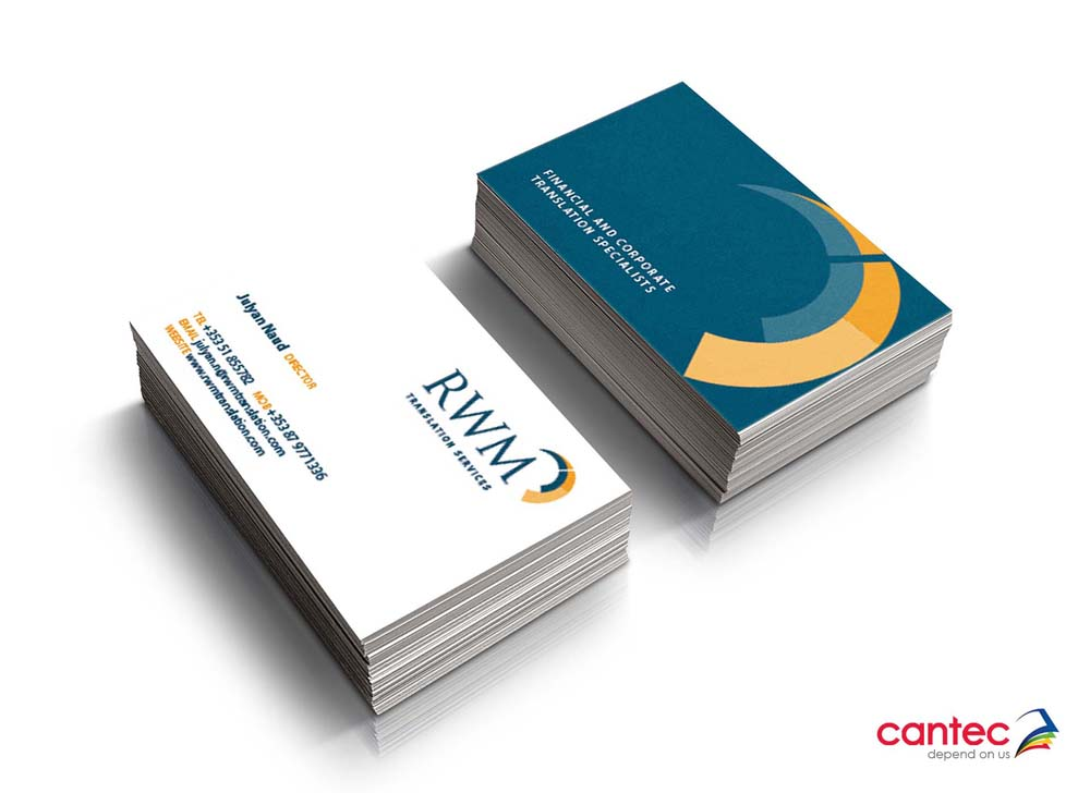 RWM Business Cards