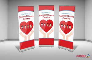 Sacred Heart Centre Pull-Up Banner