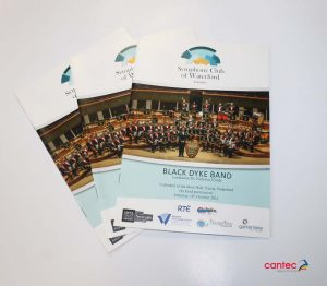 Symphony Club Waterford Black Dyke Band Flyer