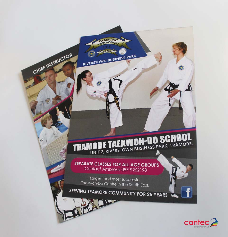 Tramore Taekwon-Do School Flyer