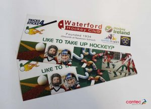 Waterford Hockey Club Flyer