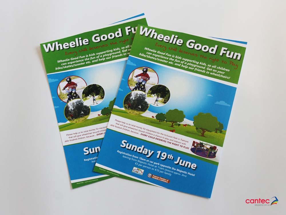 Wheelie Good Fun Flyer