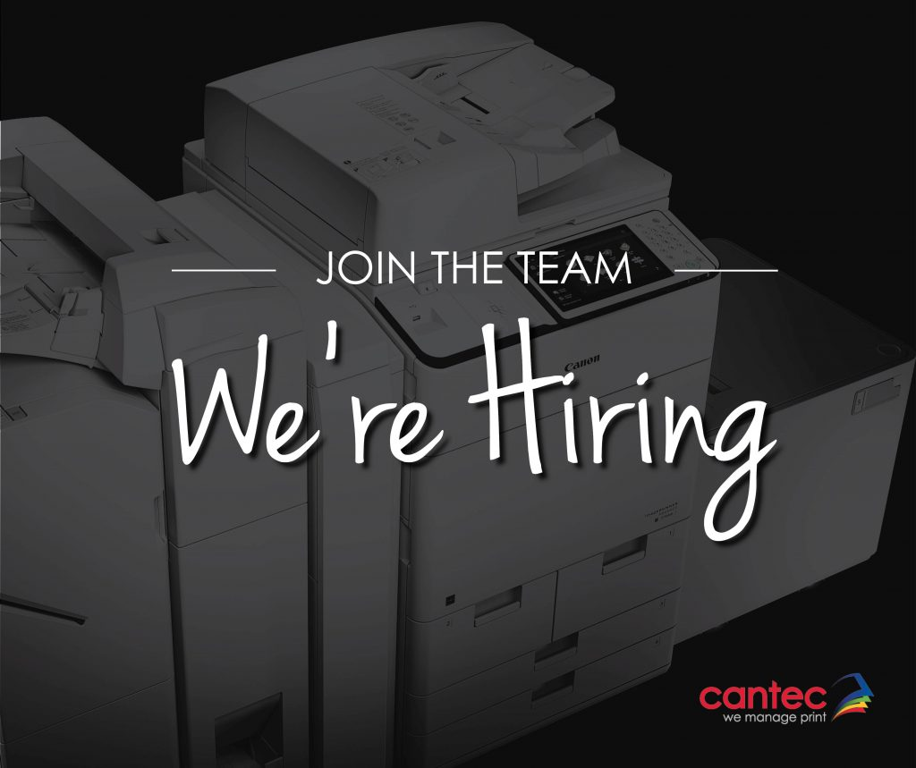 Cantec are hiring a Cork Sales Executive