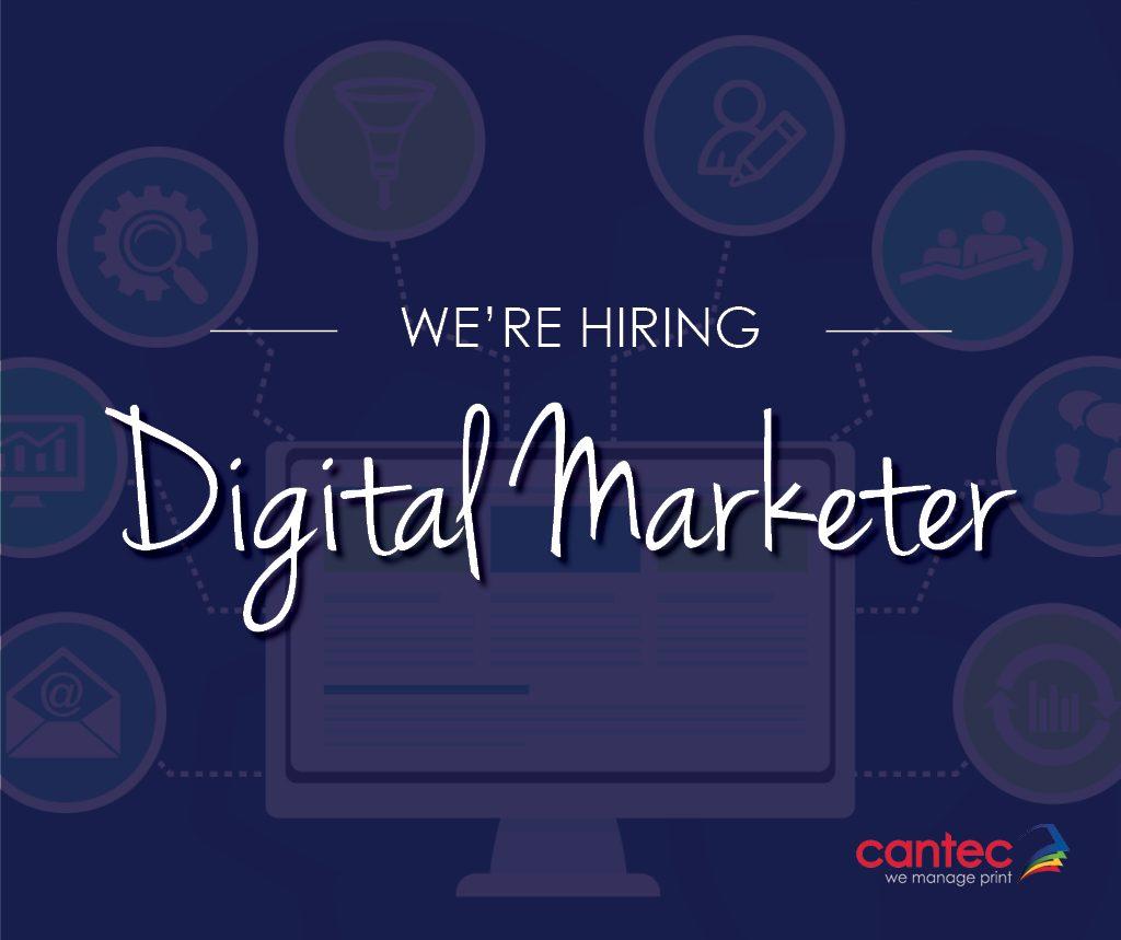 We're Hiring   Cantec Digital Marketer1