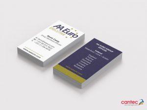 AA Euro Business Card