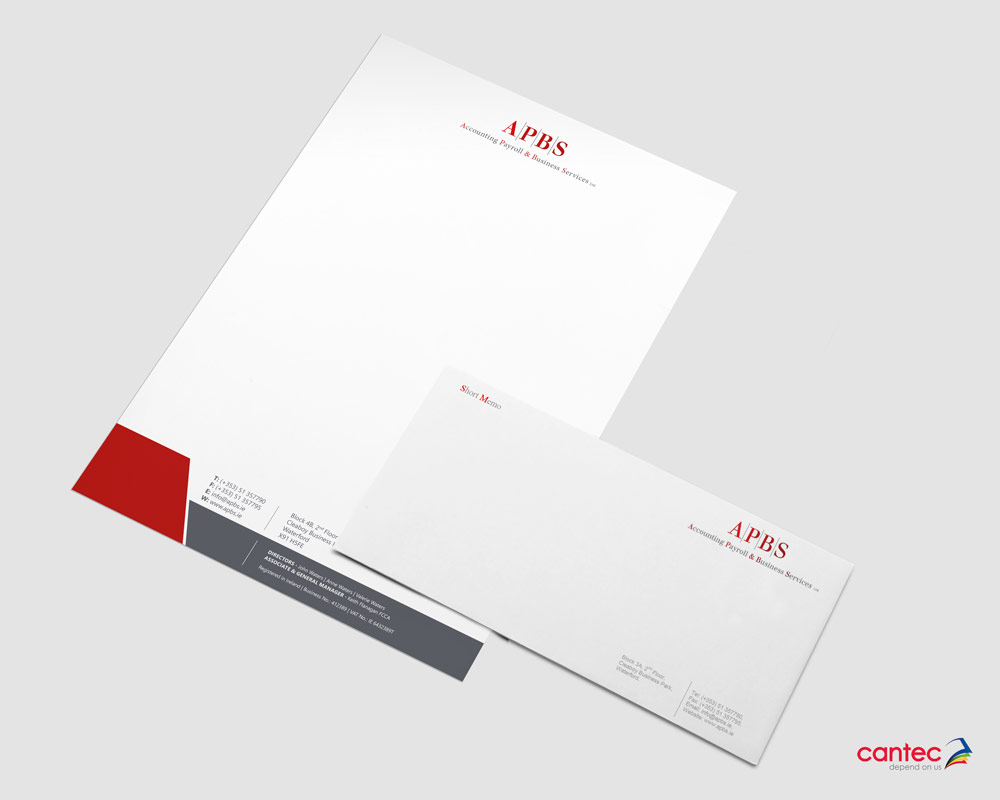 APBS Comp Slip and Letterhead