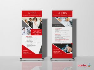 APBS Roll up Banner