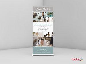 Bay Bridal Rolll up Banner