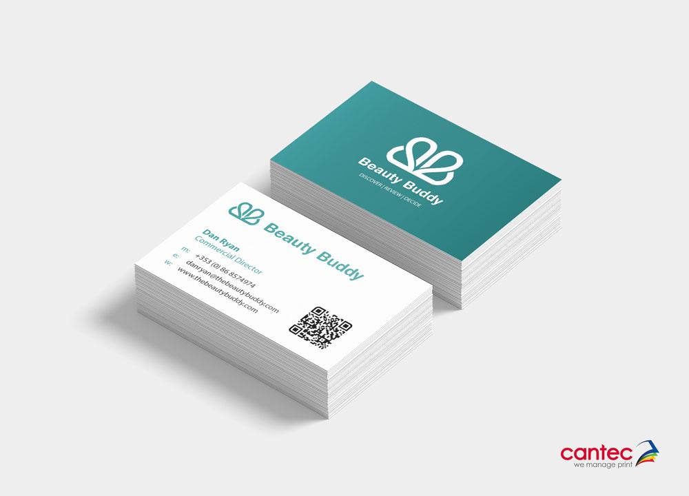 Beauty Buddy Business Card
