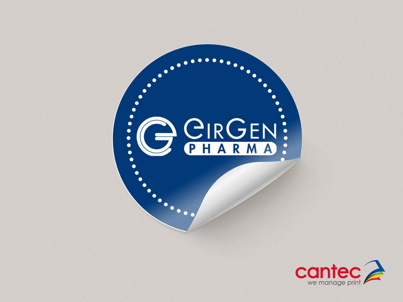 Eirgen Pharma Sticker