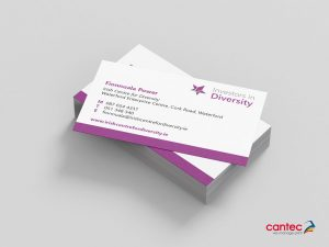 Irish Centre for Diversity Business Card