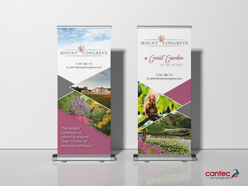Mount Congreve Roll up Banner