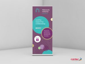Network Ireland Roll up Banner