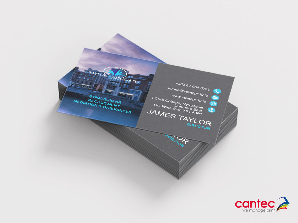 Taylor Associates Business Card