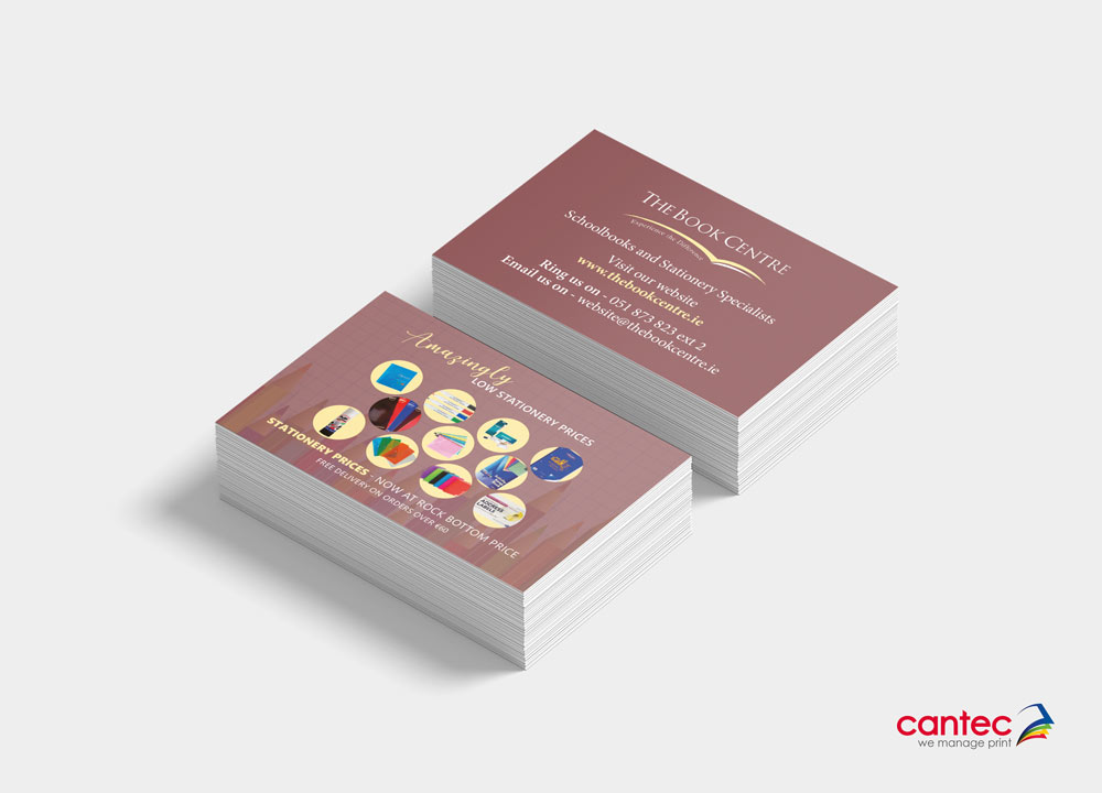 The Book Centre Business Card